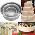 4/6/8'' Aluminum Alloy Non-stick Round Cake Baking Mould Pan Bakeware Tool Mold