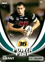 ✺New✺ 2013 PENRITH PANTHERS NRL Card TIM GRANT Power Play