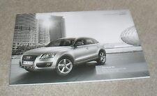 Audi Q5 Brochure 2010 - 3.0 TDI 2.0 TDI 2.0 TFSI 3.2 FSI Quattro S Line SE