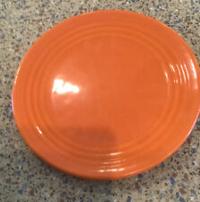 """Vintage Monterey Bauer Pottery Yellow 8 """"  Plate Dish Los Angeles"""