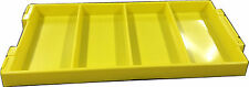 Multi Purpose Plastic Tray Yellow Pack of 10 Bait Board Fishing Bait Tray