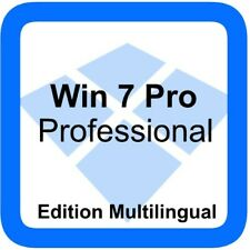 Windows 7 Pro Professional - Multilingual - 32/64 bit supported - Original Produ