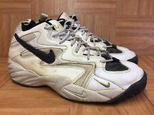 pretty nice 9c0fb f6c27 Usado 🔥 Vntg Nike Flight 96 Calzado De Baloncesto Blanco Air Cuero 12.5  130584-101