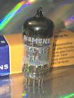 1x ECC81 Siemens Röhre Tube Röhrenverstärker 114/123% NOS Mullard UK Production
