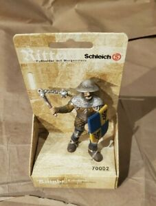 new ~ Schleich Medieval Knights ~ Footsoldier with Morningstar 70002