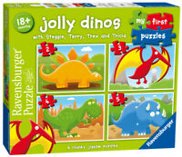 07289 Ravensburger My First Puzzle Jolly Dinos [Children's Jigsaw Puzzle]