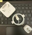 OEM Authentic Apple USB Adapter Charger Headphone earbuds for iPhone X 8 7 11 6