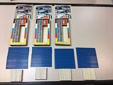 4 set's Old Vintage LEGO set 150 Train lines - year 1969 - 4 x(2x16) -> 128 pcs