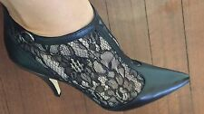 Mimco New Leather Boots Heels Shoes Size 39 Or 8