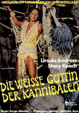 Die weisse Göttin der Kannibalen ORIGINAL A1 Kinoplakat Ursula Andress / S Keach