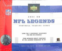 2004 Upper Deck UD NFL Legends Football Sealed Hobby Box