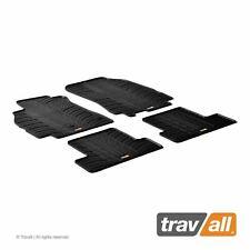 4tlg - Noir Feutre sâguilletè Tapis de Sol Renault Megane 3 Break 5-tür 2008-2015