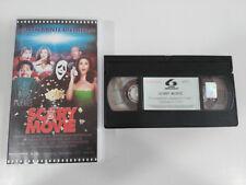 SCARY MOVIE VHS CINTA TAPE COLECCIONISTA CASTELLANO ESPAÑOL UNICA!!!