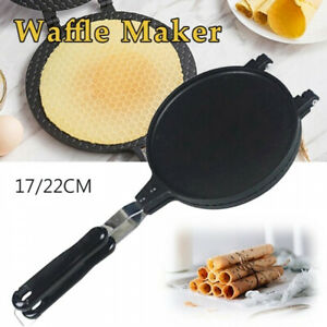 Home Cooking Mould Waffle Maker Crispy Cone Egg Roll Omelet Machine Baking Pan