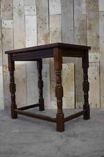 Retro Vintage Turned Wooden Small Side / Lamp Table - Shabby Chic? L