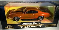 ERTL 1/18 1970 Chevy Chevelle Millennium Orange #32242 SEALED American Muscle 70