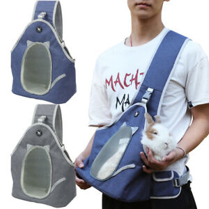 Comfort Pet Cat Bag Grooming Travel Small Puppy Dog Front Carrier Tote Sling S M