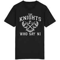 The Knights Who Say Ni T Shirt Monty Python And The Holy Grail Knights Of Ni