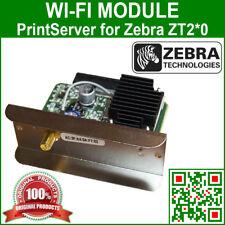 P1037974-003C integrated ZebraNet WI-FI 802.11n PrintServer for Zebra ZT220/230