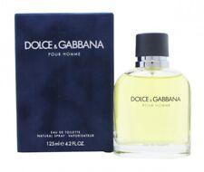 DOLCE & GABBANA POUR HOMME EAU DE TOILETTE EDT 125ML SPRAY - MEN'S FOR HIM. NEW