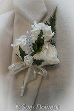 Ladies Corsages in Ivory