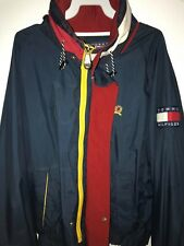 Vintage Tommy Hilfiger Windbreaker (No Flaws) Size Medium - Free Fast Shipping