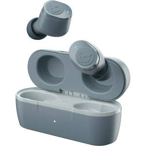 Skullcandy Jib True Wireless In-Ear Earbuds - True Grey NEW !!