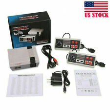 Mini Retro Game Nintendo Nes Console 620 Built-In Classic Games W/2 Controller