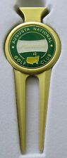 2018 Augusta National MASTERS GREEN BALL MARKER with MASTERS  DIVOT TOOL