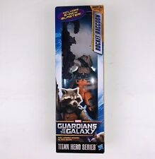 "Marvel Guardians of the Galaxy Titan Hero Series Rocket Raccoon 12"" Figure  NIP"