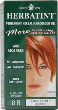 Herbatint Hair Color, 8R, Light Copper Blonde
