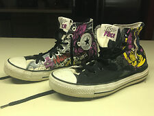 Chuck Taylor All Star DC Comics TWO-FACE Villain High Top Shoes Sneakers Sz 7