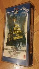 VHS DER WILDE HAUFEN VON NAVABONNE, Robert Shaw, Harrison Ford. Glasbox Video