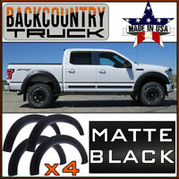 BackCountryTruck Bolt-On Style Fender Flares fit 2018-20 Ford F-150 MATTE BLACK