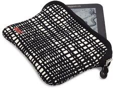 "BUILT Reversible Neoprene Sleeve Case for Kindle &  7""Tablets - City Grid /Black"