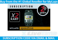 MyLaps X2 Subscription Renewal Card (2-year) for Kart