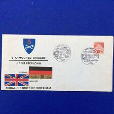 FDC 6 Armoured Brigade Kreis Iserlohn German British Week 1971 Event Cover