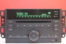 CHEVROLET AVEO CAPTIVA EPICA CAR STEREO decodificato CD Radio MP3 PLAYER GARANZIA