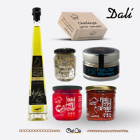 Dali Gourmet Food Gift Basket Curated Selection 5 Cooking Healthy Spanish Items