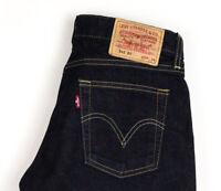 Levi's Strauss & Co Damen 545 89 Gerades Bein Jeans Größe W29 L34 AVZ1255