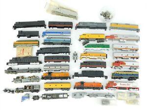 Lot Of 30+ HO Scale Diesel Locomotive Shells & Miscellaneous Parts