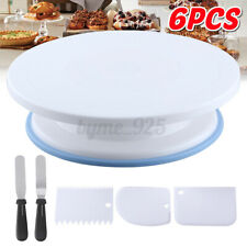 Cake Decorating Tool Set Rotating Turntable Baking Stand Cream Scraper Spatula