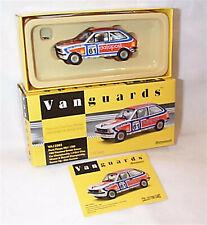 VANGUARDS Ford Fiesta MK1 1300 british saloon cars Alan Curnow VA12502 ltd ed
