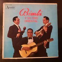 Bimbi y Su Trio Orential Vinyl Record LP