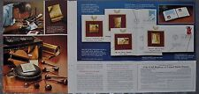 1980 Postal Commemorative Society 5-page advertisement, Gold FDC collection ad
