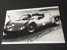 NINI VACCARELLA Formel 1-Fahrer 1961-65 signed Foto 10 x 15 Autogramm