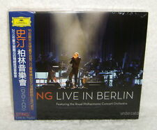 STING Live In Berlin Taiwan Ltd CD+DVD w/OBI (Digipak)