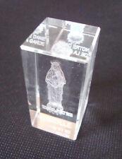 3D Láser Grabado De Cristal Tallado Cristal/Marseille, Notre-Dame de la Garde, 5 CM, Francia