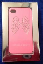 NWB, Victoria's Secret iPhone case, cover, rhinestone, angel wings, 4 and 4s