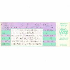 GARTH BROOKS & STEPHANIE DAVIS Concert Ticket Stub UNIONDALE NY 11/11/93 NASSAU